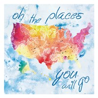 Places You Will Go Fine-Art Print