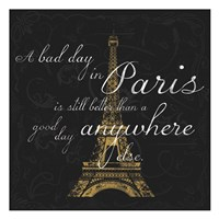 Paris Square BG Fine-Art Print