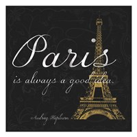 Paris Square GB Fine-Art Print