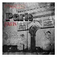 Paris Arc Victorian Fine-Art Print