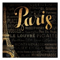 The Left Side of Paris Fine-Art Print