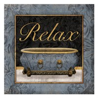 Relaxing Bath Fine-Art Print