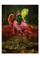 Flamingo Fairy 82390 Fine-Art Print
