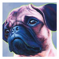 Blue Bulldog 82486 Fine-Art Print