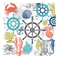 Coastal Collage Fine-Art Print