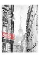 City View Redpop Fine-Art Print