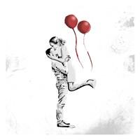 True Love Red Pop Mate Fine-Art Print