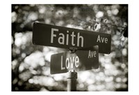 Faith and Love Fine-Art Print