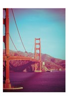 Retro Golden Gate Fine-Art Print