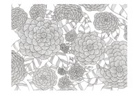 Wild Hydrangeas Less Fine-Art Print
