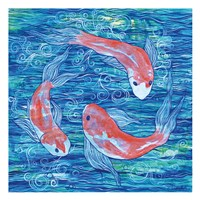 Circling Koi Fine-Art Print
