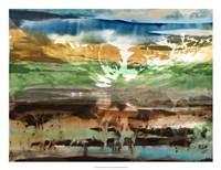 Mountain Abstract II Fine-Art Print