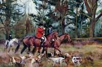 Foxhunt Fine-Art Print