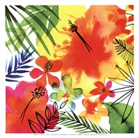 Jungle Hibiscus II Fine-Art Print