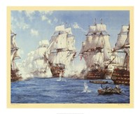 Battle of Trafalgar Fine-Art Print