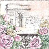 Paris Roses V Fine-Art Print