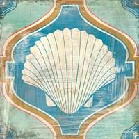 Bohemian Sea Tiles II Fine-Art Print
