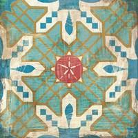 Bohemian Sea Tiles III Fine-Art Print