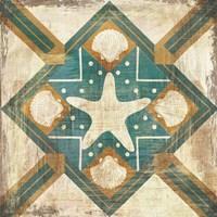 Bohemian Sea Tiles IV Fine-Art Print