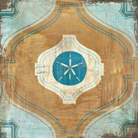 Bohemian Sea Tiles VII Fine-Art Print