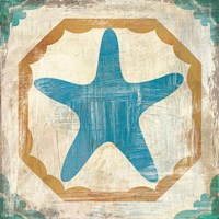 Bohemian Sea Tiles IX Fine-Art Print