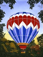 Balloon Over Letchworth Fine-Art Print