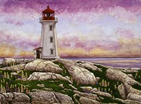 Nova Scotia - Peggy's Cove Lighthouse Fine-Art Print