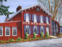 Old Red Mill Inn Fine-Art Print