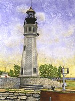 Buffalo Lighthouse II Fine-Art Print