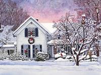 Christmas Cardinals, Orchard Park, NY Fine-Art Print