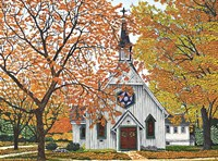 Country Church, Western NY Fine-Art Print