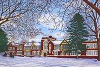 Eden Central School, Eden, Ny Fine-Art Print