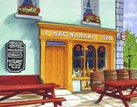 Ireland - Macnamara's Pub, Bunratty Fine-Art Print