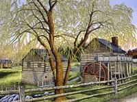 Mccormick Mill, Steeles Tavern Va Fine-Art Print