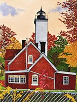 Presque Isle Light, Erie Pa Fine-Art Print