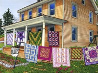 Quilts Nine On The Line, Lancaster, Pa Fine-Art Print