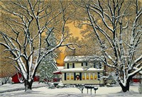 Christmas In The Country Fine-Art Print