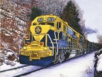 Engine #9537 Fine-Art Print