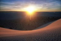 Curved Dune Spot Removed Fine-Art Print