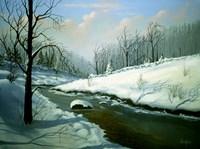 Winter Landscape 4 Fine-Art Print