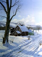 Winter Landscape 7 Fine-Art Print