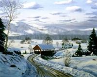 Winter Landscape 15 Fine-Art Print
