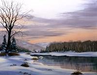 Winter Landscape 19 Fine-Art Print