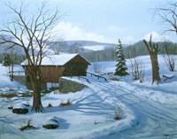 Winter Landscape 28 Fine-Art Print