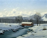 Winter Landscape 29 Fine-Art Print