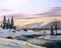 Winter Landscape 31 Fine-Art Print