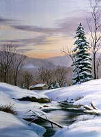 Winter Landscape 36 Fine-Art Print
