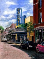 County Theater Fine-Art Print