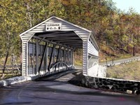 Knox Bridge - Valley Forge Pa Fine-Art Print