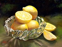 Lemon In Glass Fine-Art Print